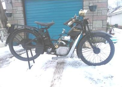 1921 Velocette 220cc DL2 Ladies Model
