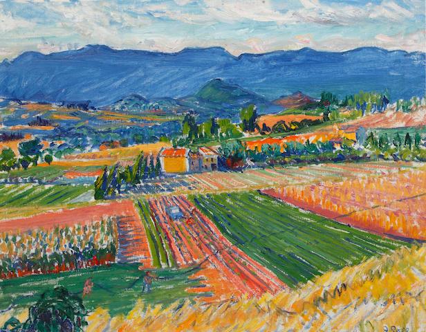 Frederick Gore C.B.E, R.A (British, 1913-2009) Continental Landscape