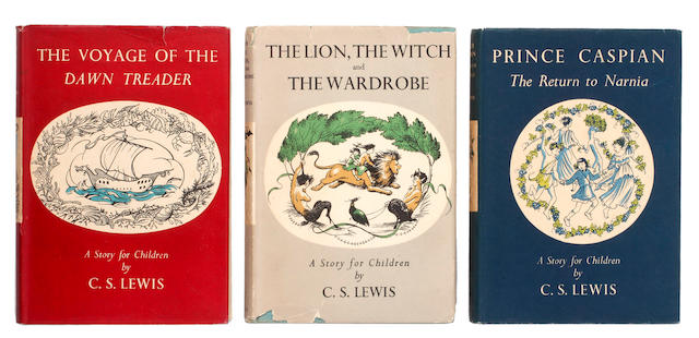 LEWIS (C.S.) The Lion, The Witch, and The Wardrobe, FIRST EDITION, [1950]