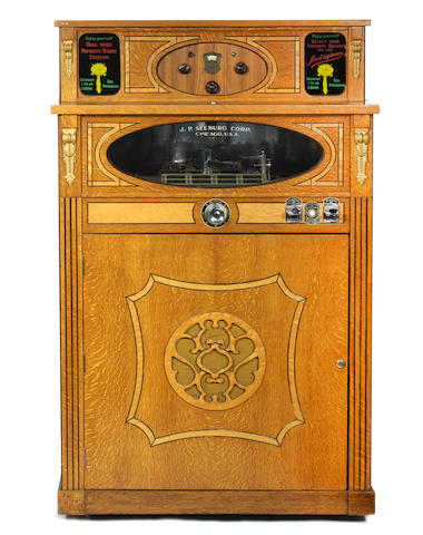A rare Seeberg Audiophone Junior Jukebox, American, circa 1928-9