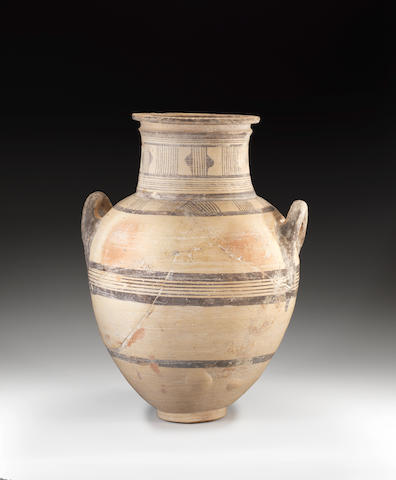 A large Cypriot pottery amphora