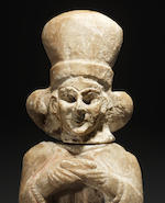 A Sumerian alabaster female worshipper