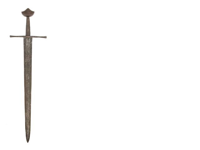A Fine North European Medieval Knightly Sword Of Oakeshott Type Xa
