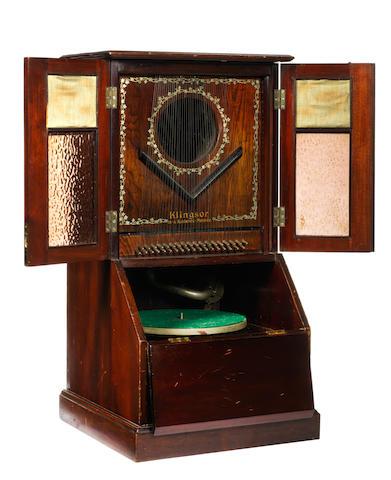 A Klingsor gramophone,
