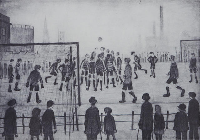 Laurence Stephen Lowry R.A. (British, 1887-1976) 'The Football Match'