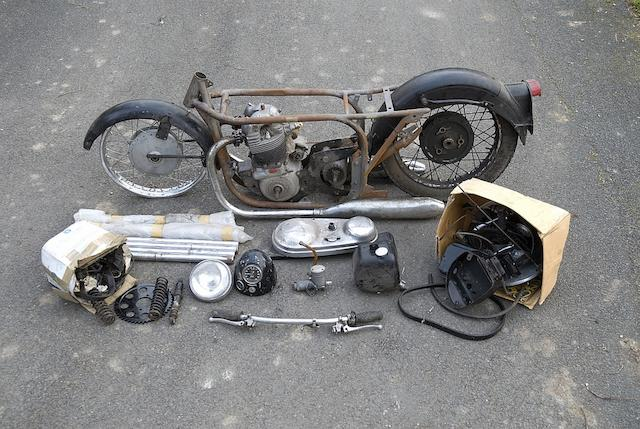 1960 Norton 596cc 'Dominator 99' Project Frame no. R13 85250 Engine no. 87991 14R