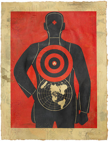 Shepard Fairey (American, born 1970) Untitled