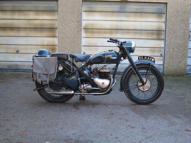 1951 Triumph 500cc TRW Frame no. 6234NA Engine no. TRW 6234NA