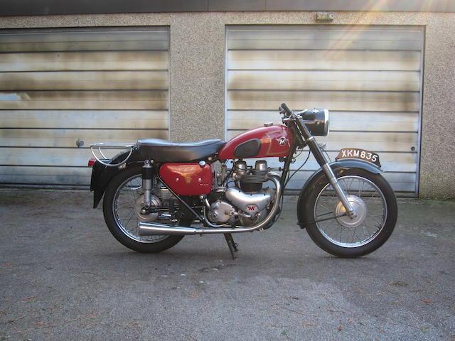 1956 Matchless 593cc Model G11 Frame no. A46695 Engine no. 01940