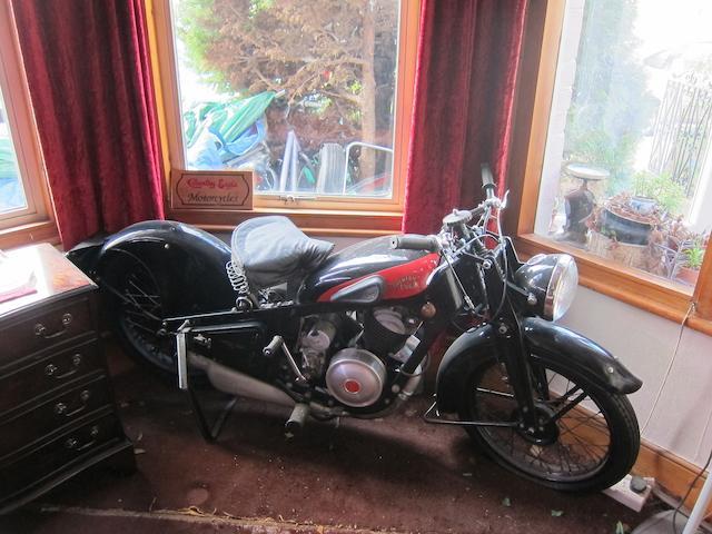 1934 Coventry Eagle 250cc Frame no. 83082 Engine no. AU1192