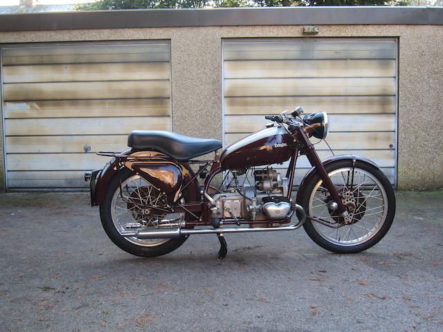 1952 Douglas 348cc 80 Plus Frame no. 11450 Engine no. 11450/80