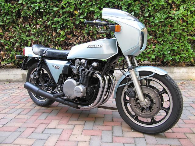 1979 Kawasaki Z1000 Z1-R Frame no. KZT00D015614 Engine no. KZT00DE015624