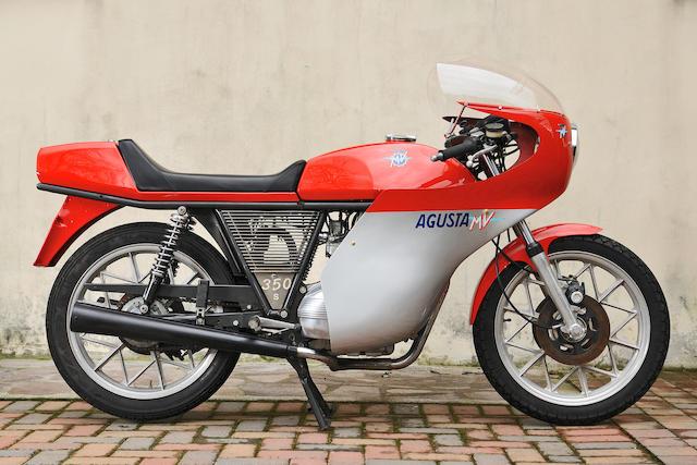 1976 MV Agusta 350 Sports 'Ipotesi' Frame no. 21601327 Engine no. 21601397