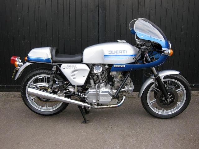 1982 Ducati 864cc 900SS Frame no. DM860SS 090882 Engine no. 092382