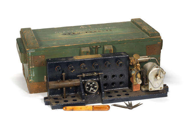 A Merlin Engine spark-plug tester,