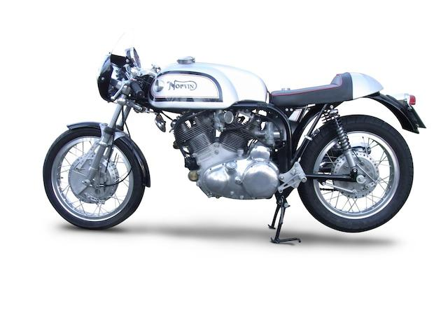 One owner, 20 kilometres from new,2005 'Norvin' 998cc Café Racer Frame no. R92270 Engine no. F10AB/1B/12100