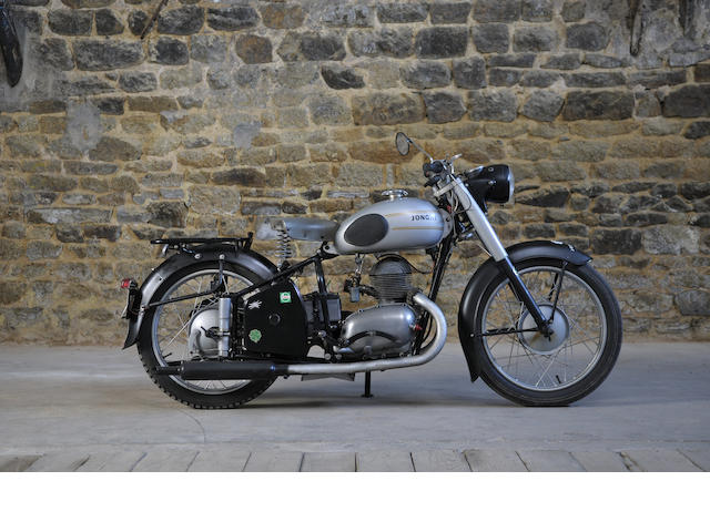 1955 Jonghi 248cc H54T Frame no. 4356 Engine no. 4356