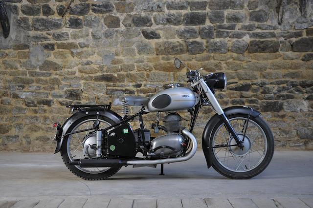 1955 Jonghi 248cc H54T Frame no. 4356 Engine no. 4356