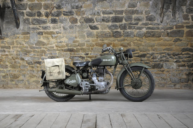 c.1944 Royal Enfield 346cc Model CO Frame no. M22267A