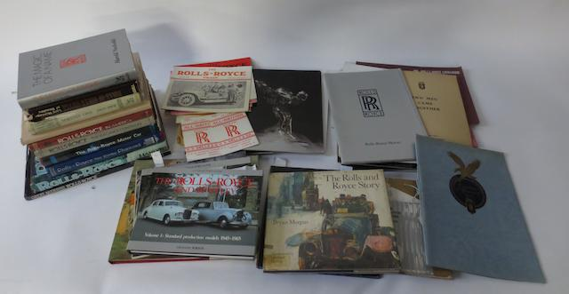 Rolls-Royce reference books,