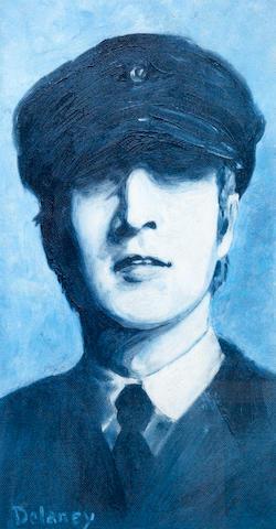 Arthur Delaney (British, 1927-1987) John Lennon