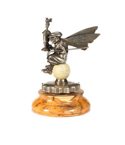 A 'Golfer' mascot, 1920s,