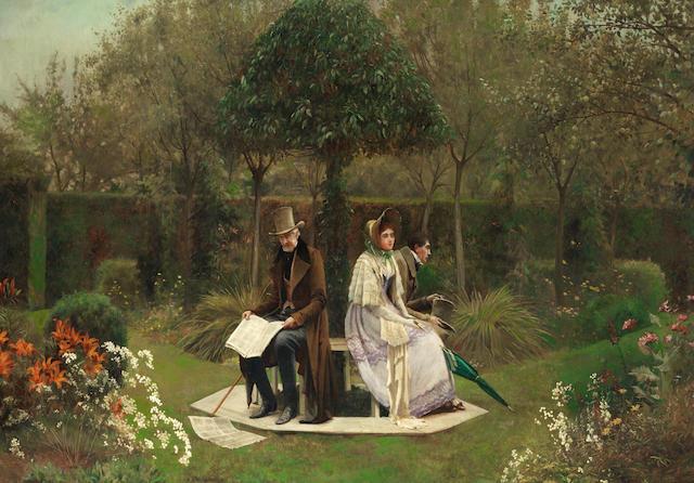 Walter Dendy Sadler, RBA (British, 1854-1923) The chaperone