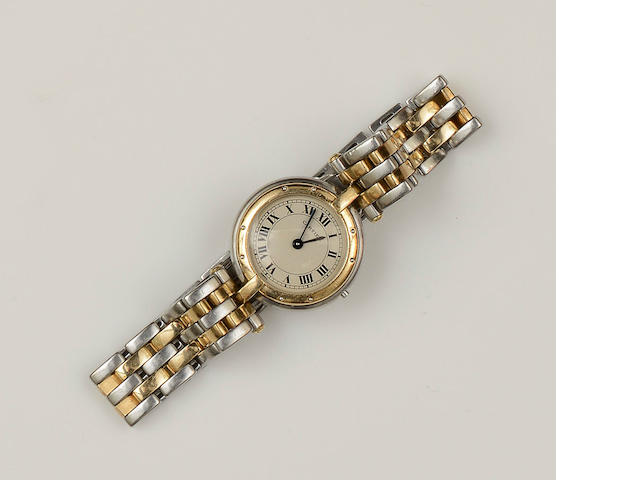Cartier: A lady's Panthère wristwatch