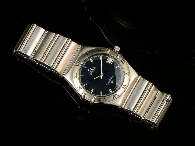 Omega: A gentleman's stainless steel Constellation wristwatch