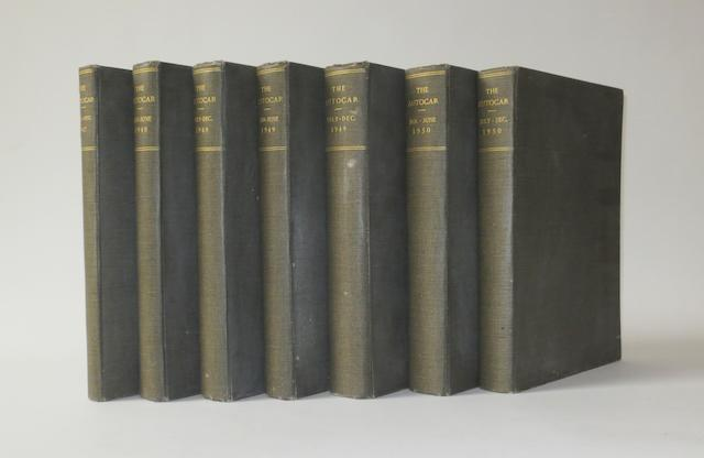 The Autocar; bound Volumes XCII-XCV (1947-50),