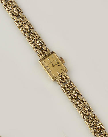 Bucherer: An 18ct gold lady's wristwatch