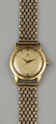 Omega: An 18ct gold gentleman's Seamaster wristwatch