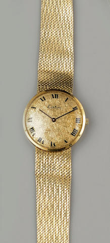 Kutchinsky: An 18ct gold gentleman's wristwatch