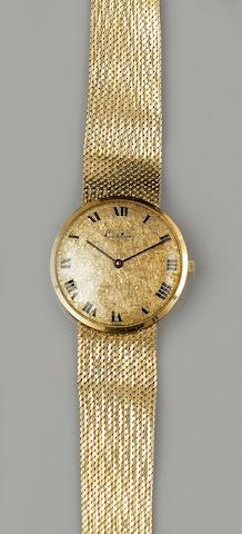 Kutchinsky: An 18ct gold gentleman's wristwatch