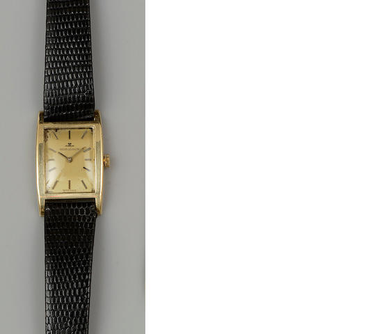 Jaeger-LeCoultre: An 18ct gold gentleman's wristwatch