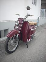 1955 DKW 75cc Hobby Luxus Frame no. 51128 Engine no. 03015 365