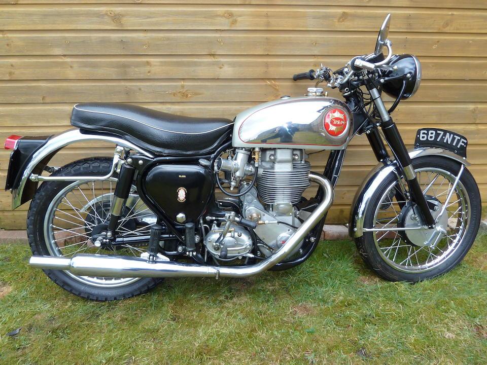 1956 BSA 500cc DBD34 Gold Star Frame no. CB32 5021 Engine no. DBD34GS 2138