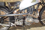 c.1933 Cotton-Norton 490cc Racing Motorcycle Engine no. 42509