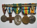 Five to Captain J.M.Chrystie, Royal Army Medical Corps,