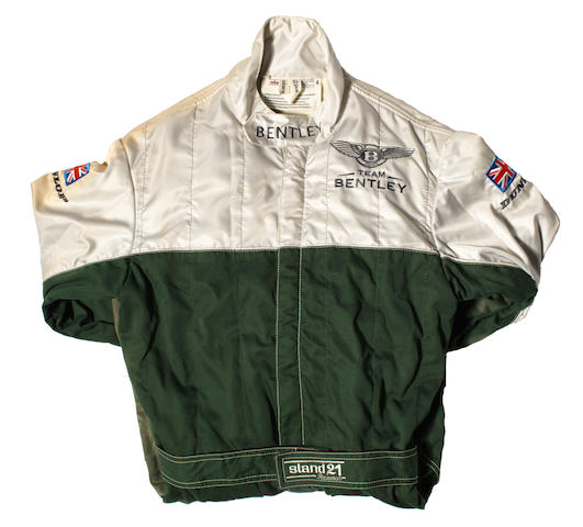 A set of Team Bentley overalls by Stand 21,