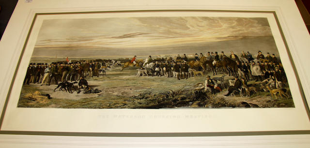 After Richard Ansdell, RA The Waterloo Coursing Meeting after the the 19th Century engraving by S W Reynolds
