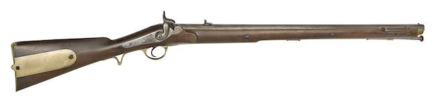 A Rare 14-Bore Brunswick First Model Percussion Service Rifle