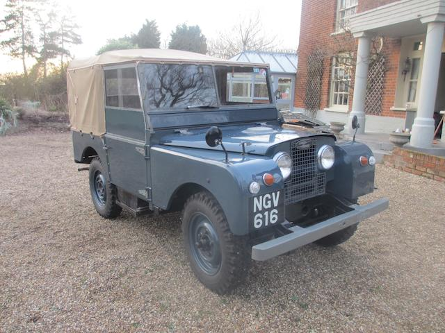 1951 Land Rover Series I, Chassis no. 26100855 Engine no. 192570