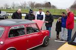 1969 Austin Mini Cooper 'S' Sports Saloon, Chassis no. C-A2SB/1300889-A Engine no. 9F-XE-Y/53433