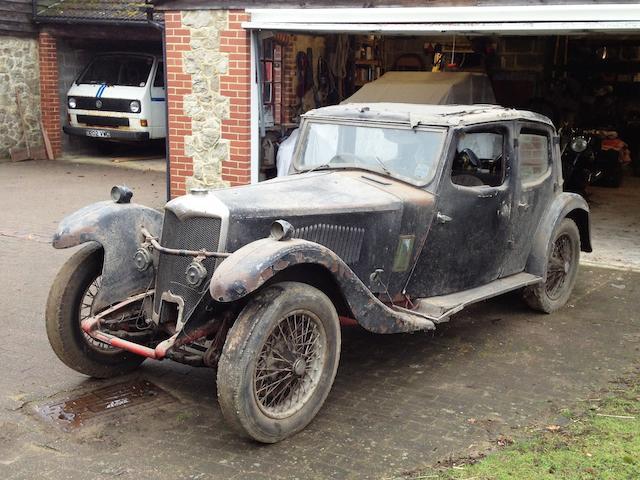 1933 Riley 14/6 Kestrel