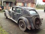 1933 Riley 14/6 Kestrel Sports Saloon, Chassis no. 44T 317 Engine no. L963