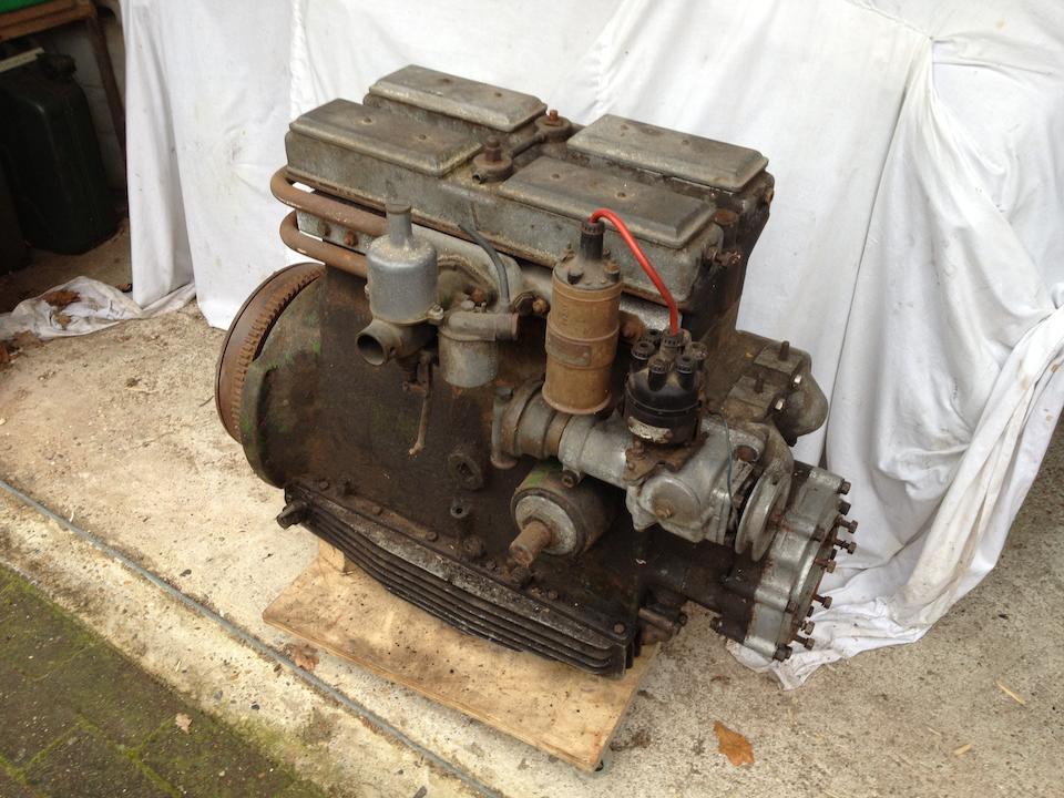 1933 Riley 14/6 Kestrel Sports Saloon, Chassis no. 44T 317 Engine no. L963