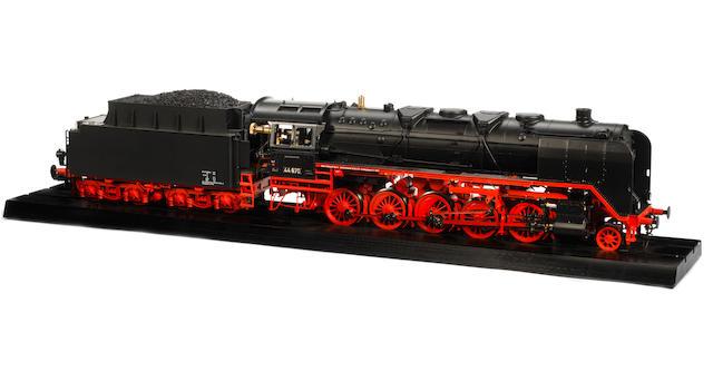 Marklin 55004 gauge I live steam BR44 2-10-0 DB locomotive and tender