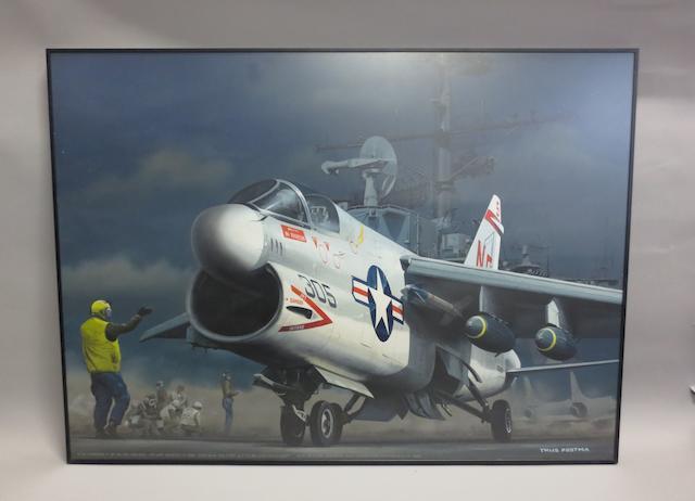 Thijs Postma, Dutch, (1934- ), 'Corsair',