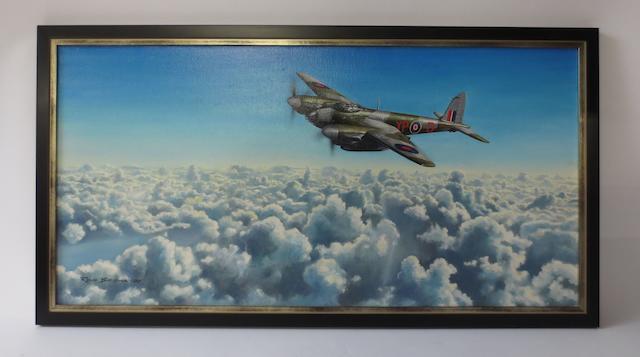 Rens Biesma, Dutch, (1944- ), 'Alone in the Sky'